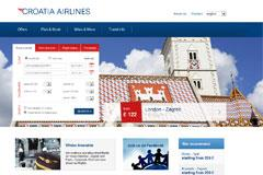 Croatia Airlines launches new website