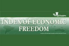 Croatia ranked 83rd on the Index of Economic Freedom 2012