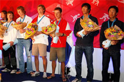 470 World Championship 2009 - Mens Podium -  Per Heegaard